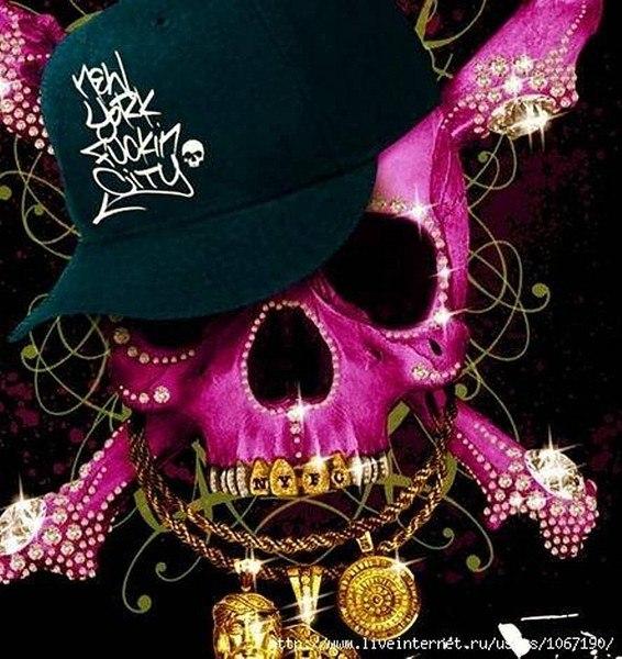 Skull Duggery Two Skulls Skull Art and Skull Print 566x600