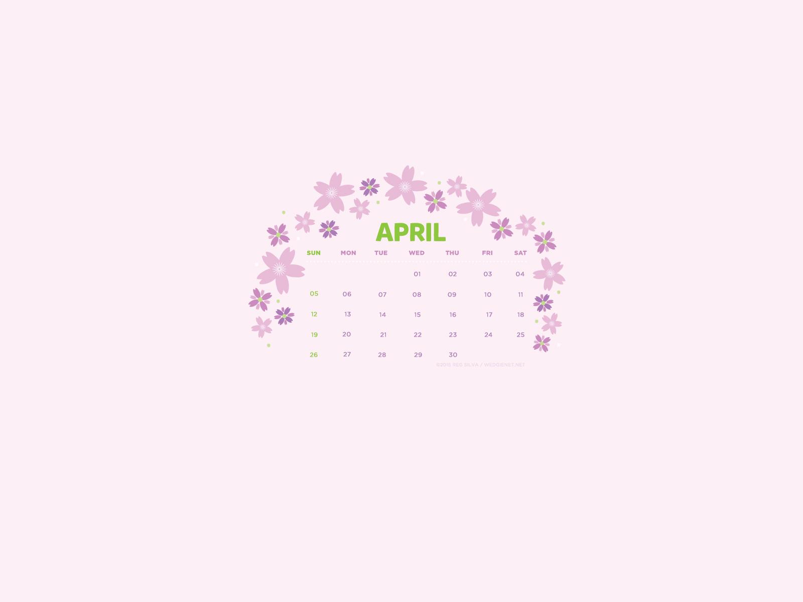 Unique April 2015 Desktop Download April 2015 desktop iPhone 1600x1200