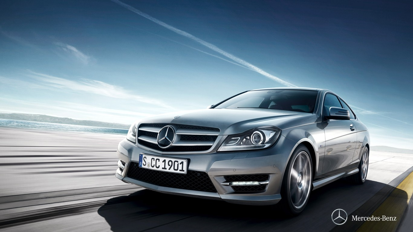Mercedes Benz C300 Wallpaper WallpaperSafari