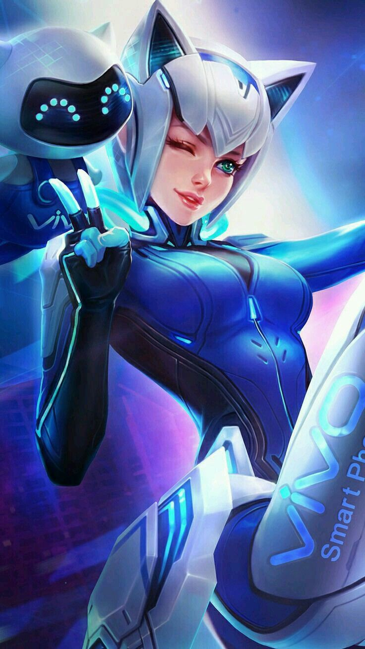 Wallpaper Mobile Legends Layla   Kumpulan Wallpaper 736x1309