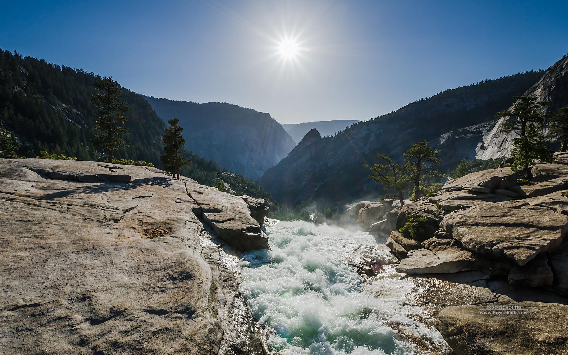 Nevada Fall Yosemite National Park Wallpapers HD Wallpapers 1920x1200