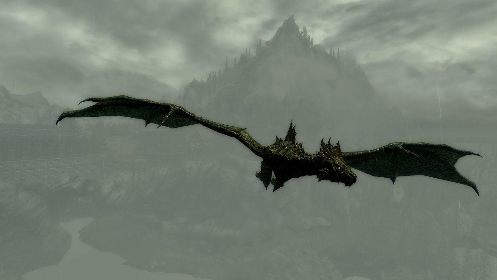 Flying Dragon Wallpapers 1600x900