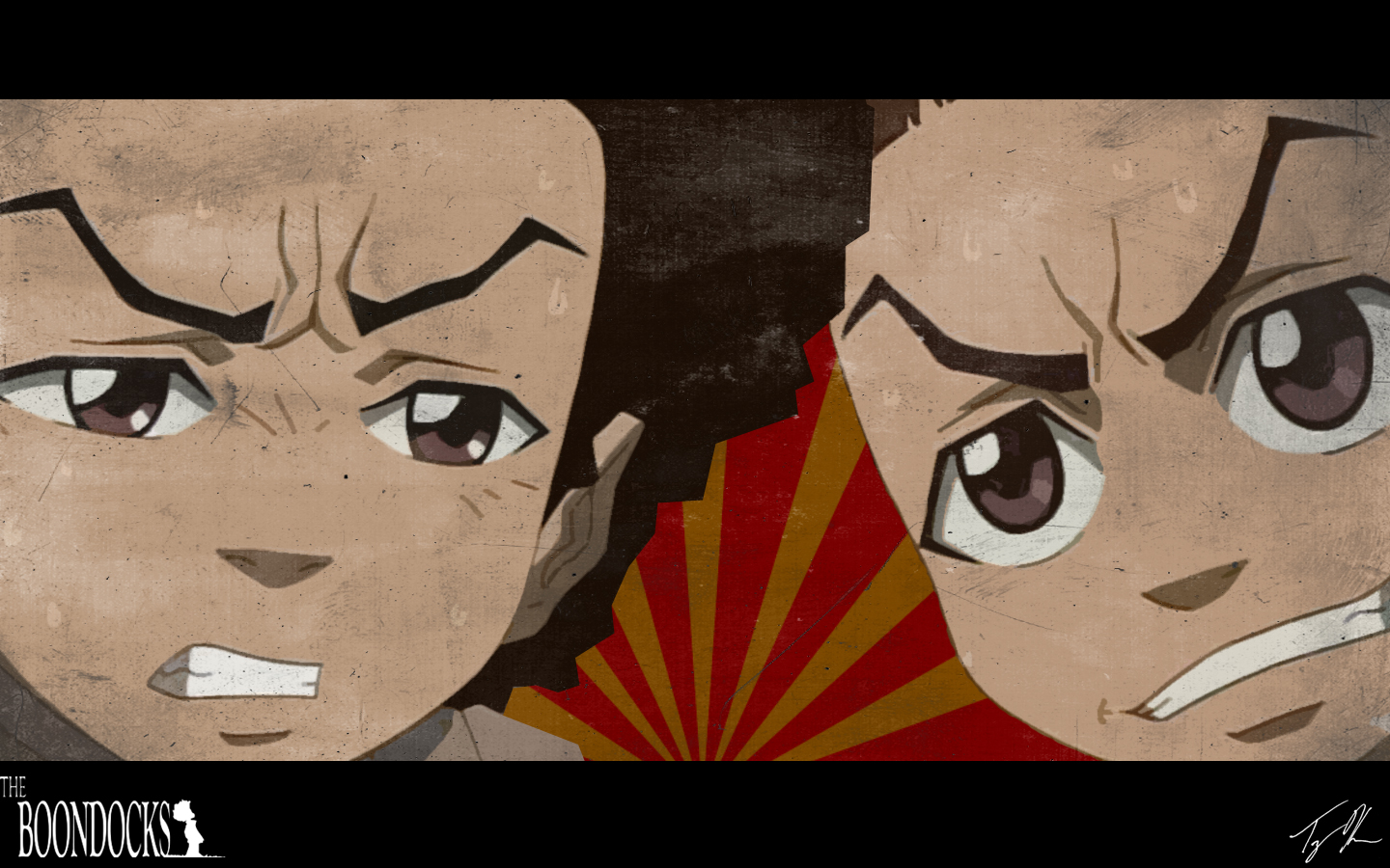 Boondocks Wallpaper Riley 1440x900