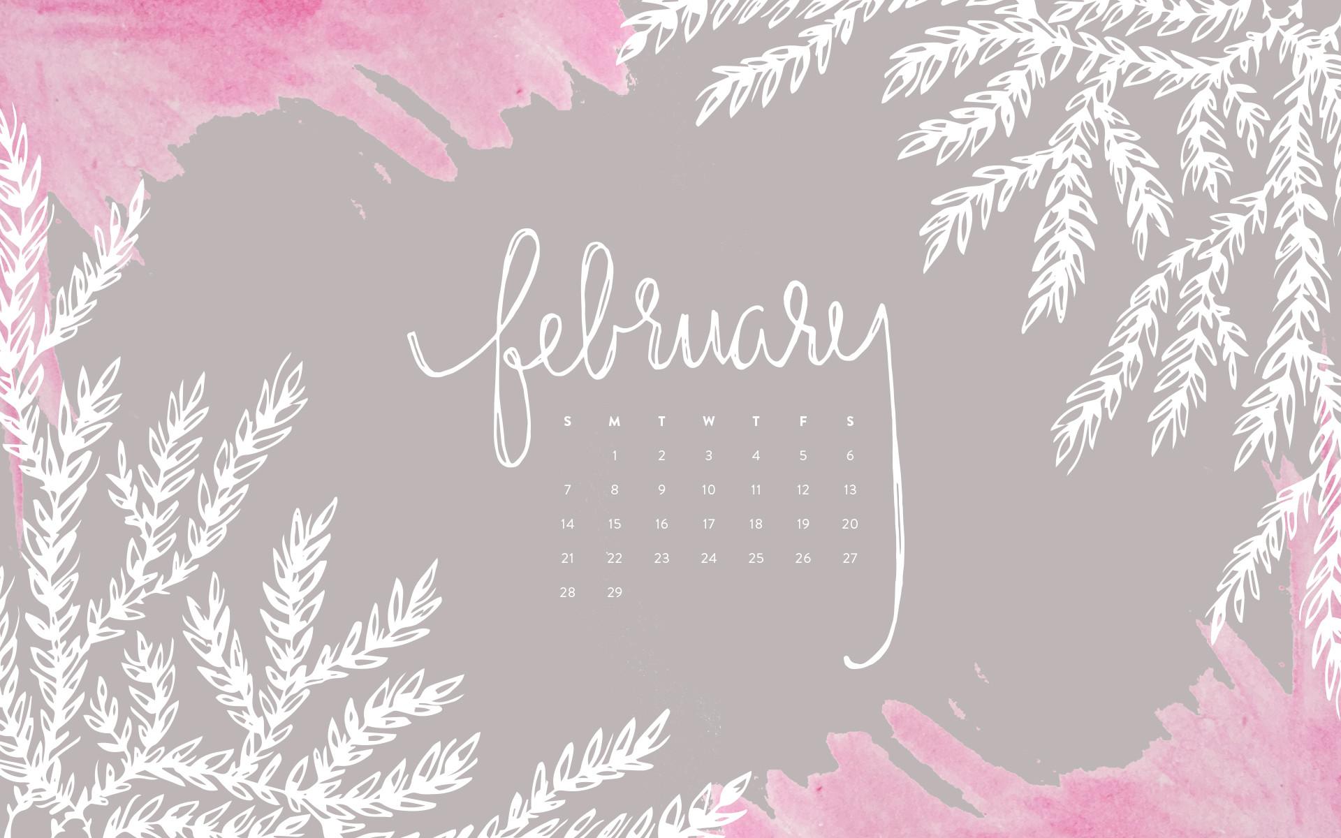 February 2018 Wallpaper Calendar 63 images 1920x1200