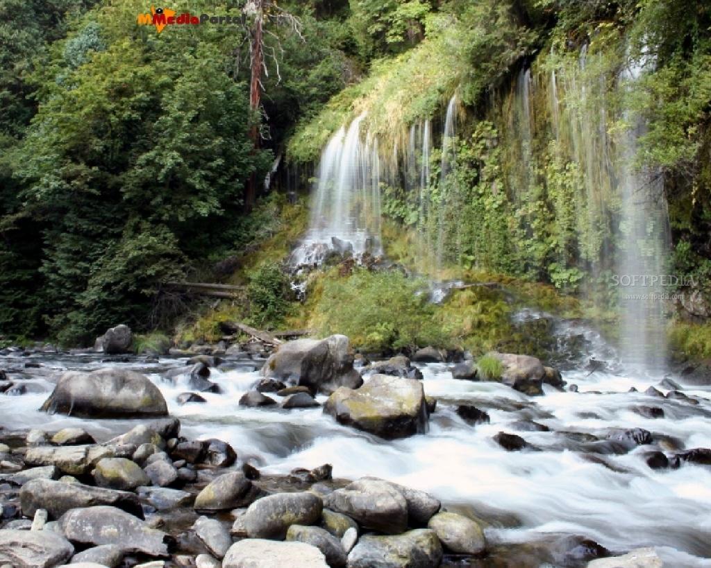 moving waterfall wallpaper screensaver   weddingdressincom 1024x819