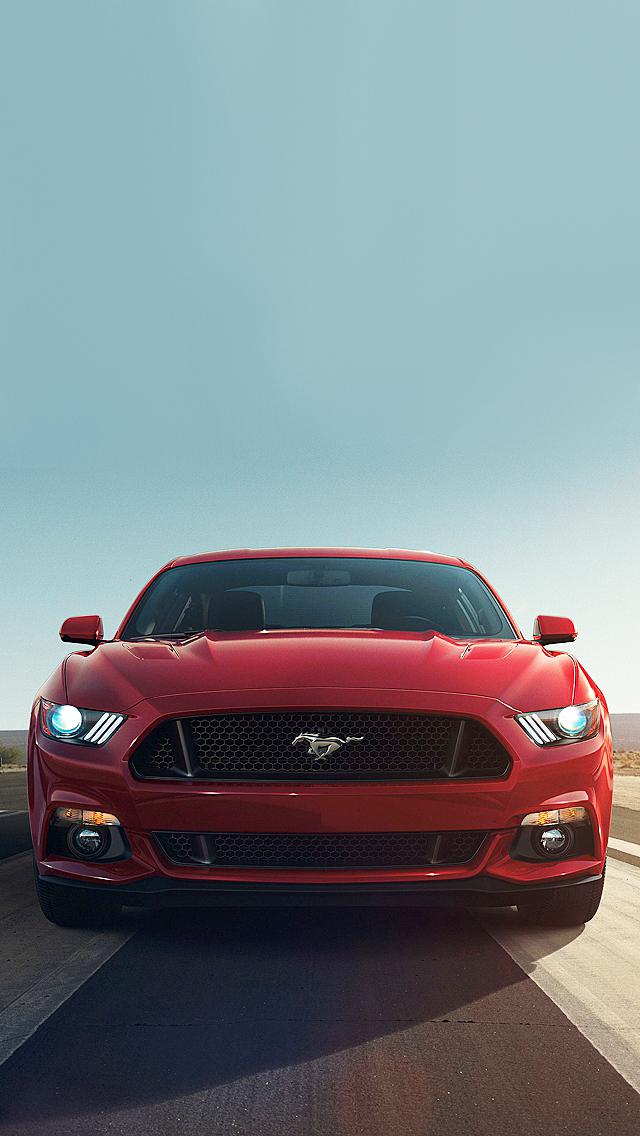 Mustang iPhone Wallpaper - WallpaperSafari