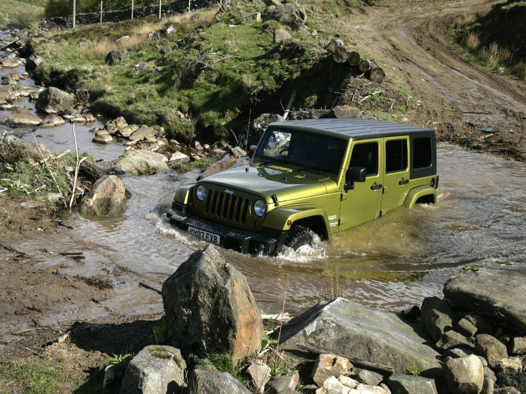 Jeep Wrangler Off Road Wallpapers Wallpaper Art Models 1024x768