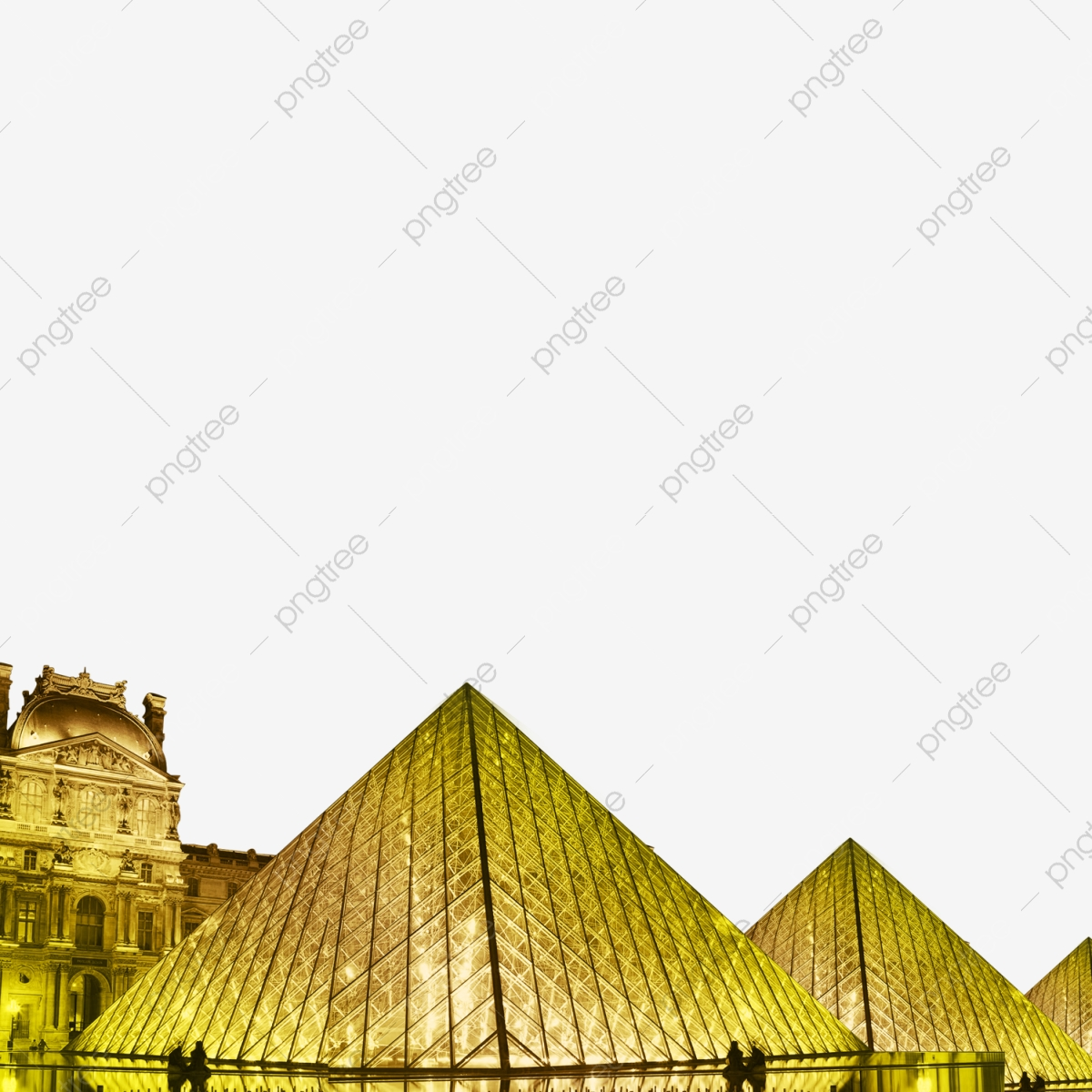 French Louvre France The Louvre Building PNG Transparent 1200x1200