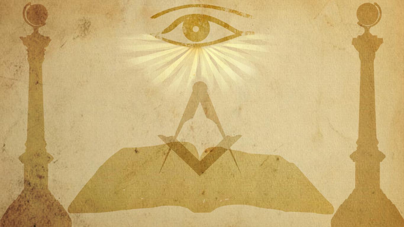 New Wallpapers My Freemasonry   Freemason Information and Discussion 1366x768