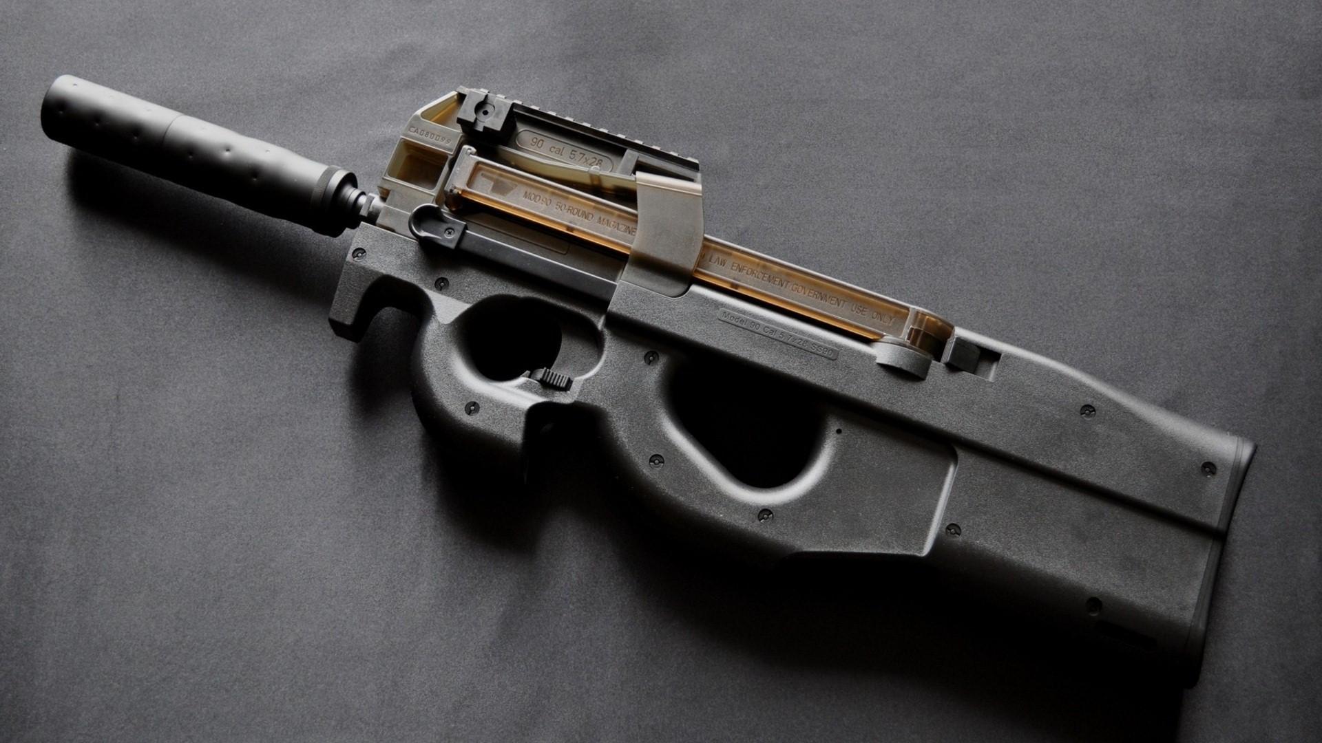 FN P90 Sub Machine Gun HD Wallpaper HD Wallpapers 1920x1080