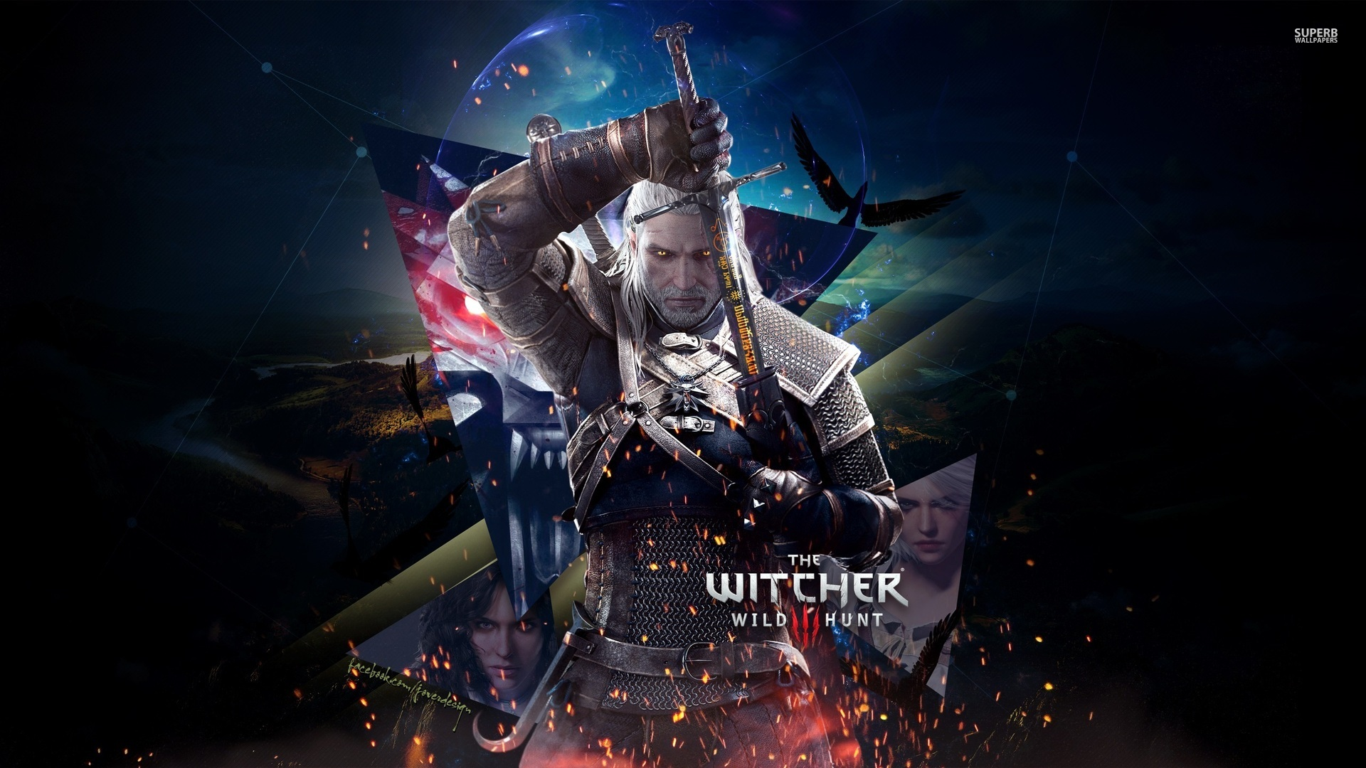 The Witcher 3 HD Wallpaper Background Images 1920x1080