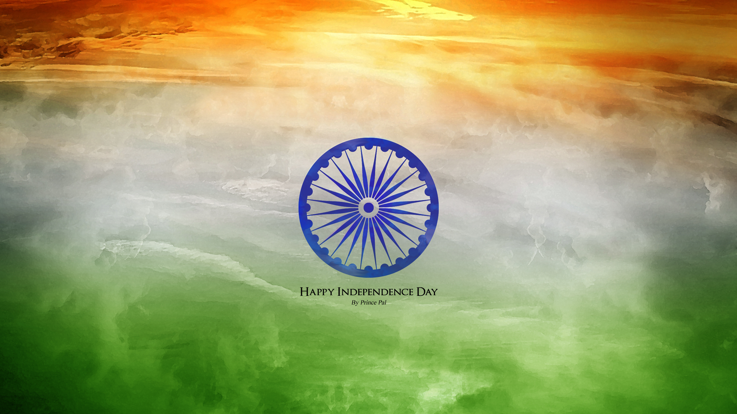 Beautiful Indian Flag Tiranga Wallpapers   Happy Independence Day 2560x1440