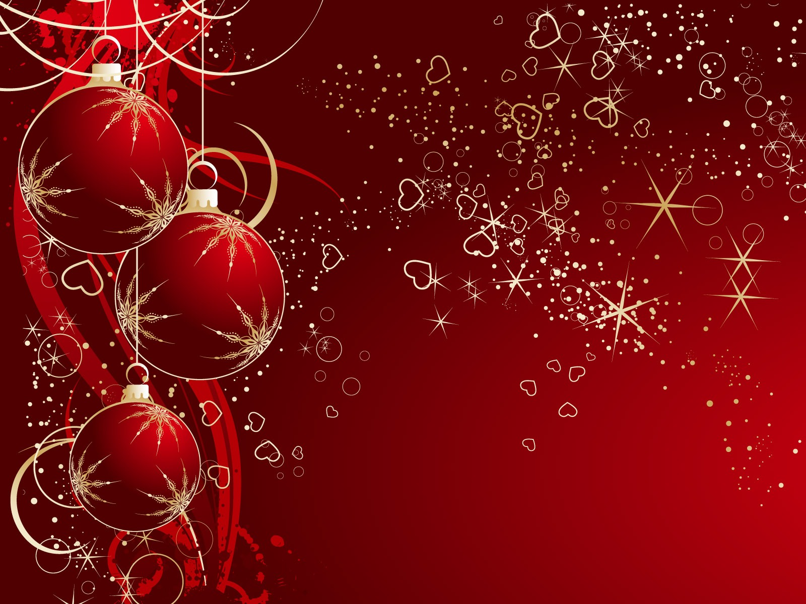 Christmas Background Red Christmas Backgrounds Red Christmas 1600x1200