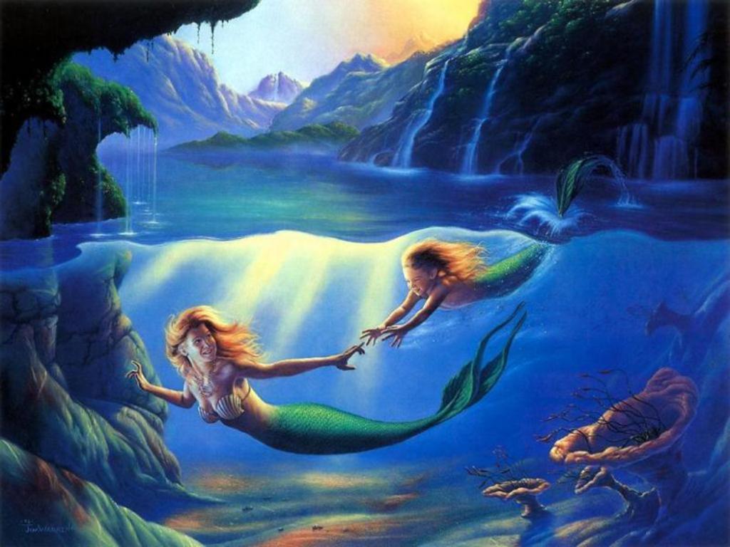 Mermaid Screensavers and Wallpaper - WallpaperSafari