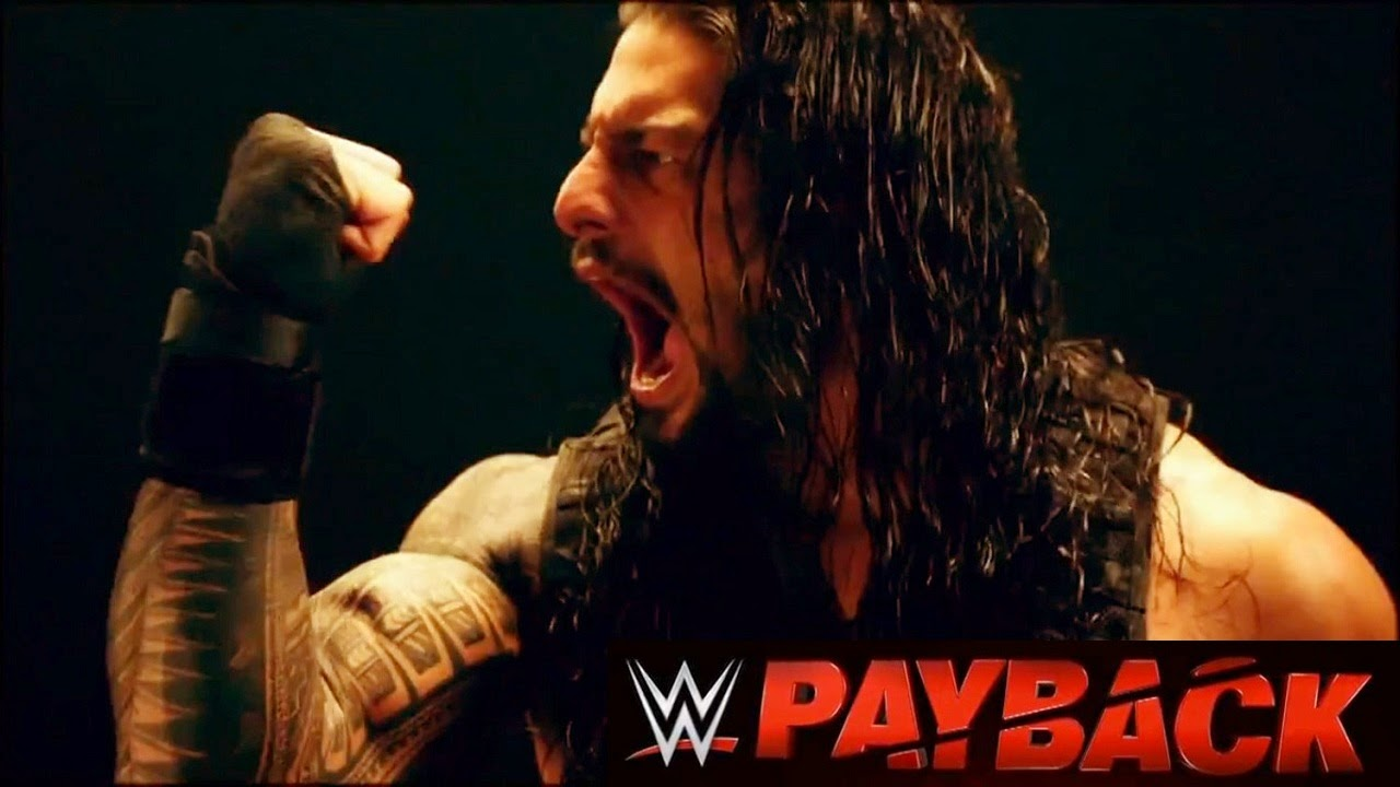 Wallpapers of WWE Payback 2015 Roman Reigns Poster HD Wallpaper 1280x720