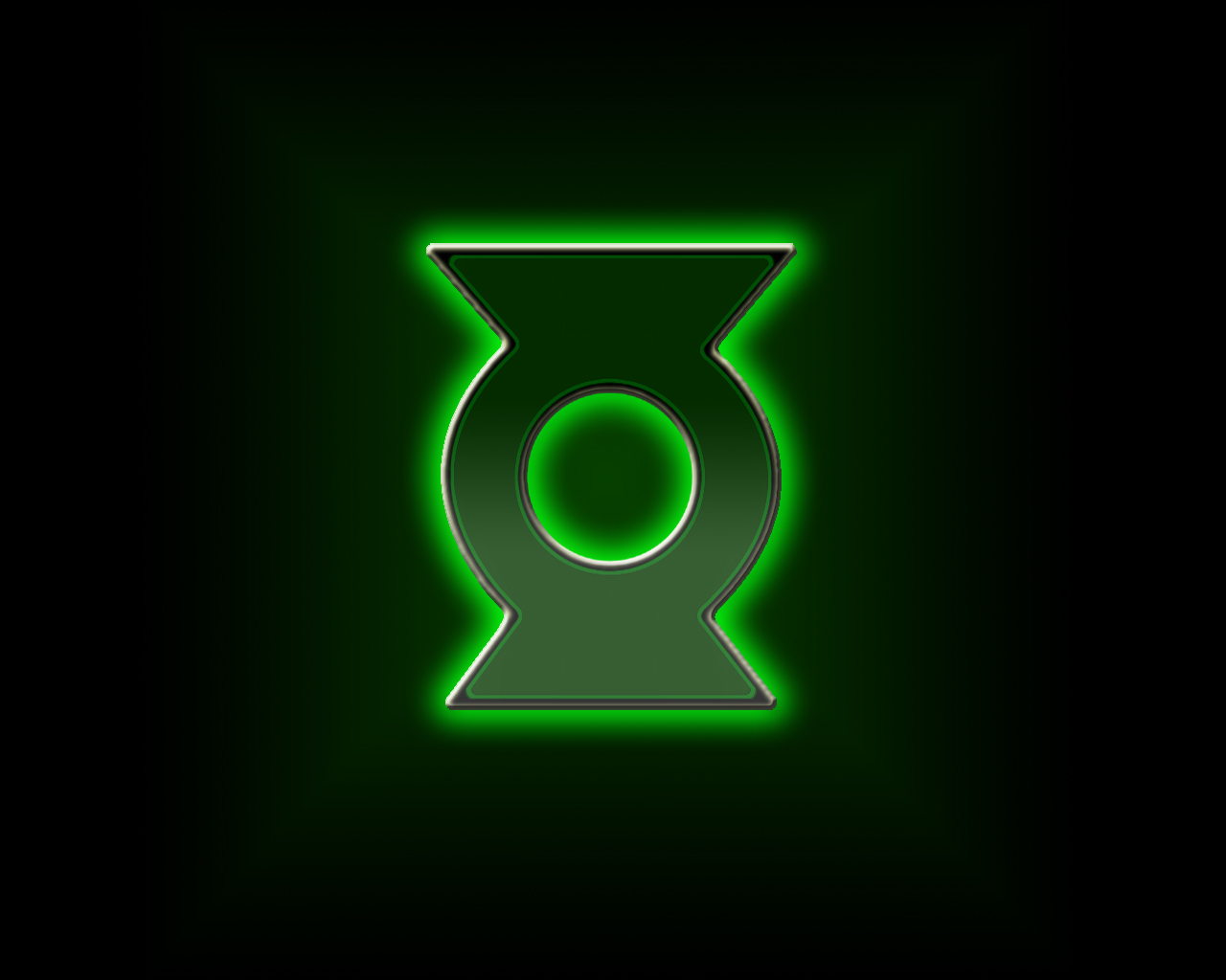 Green Lantern Logo Wallpaper 1280x1024