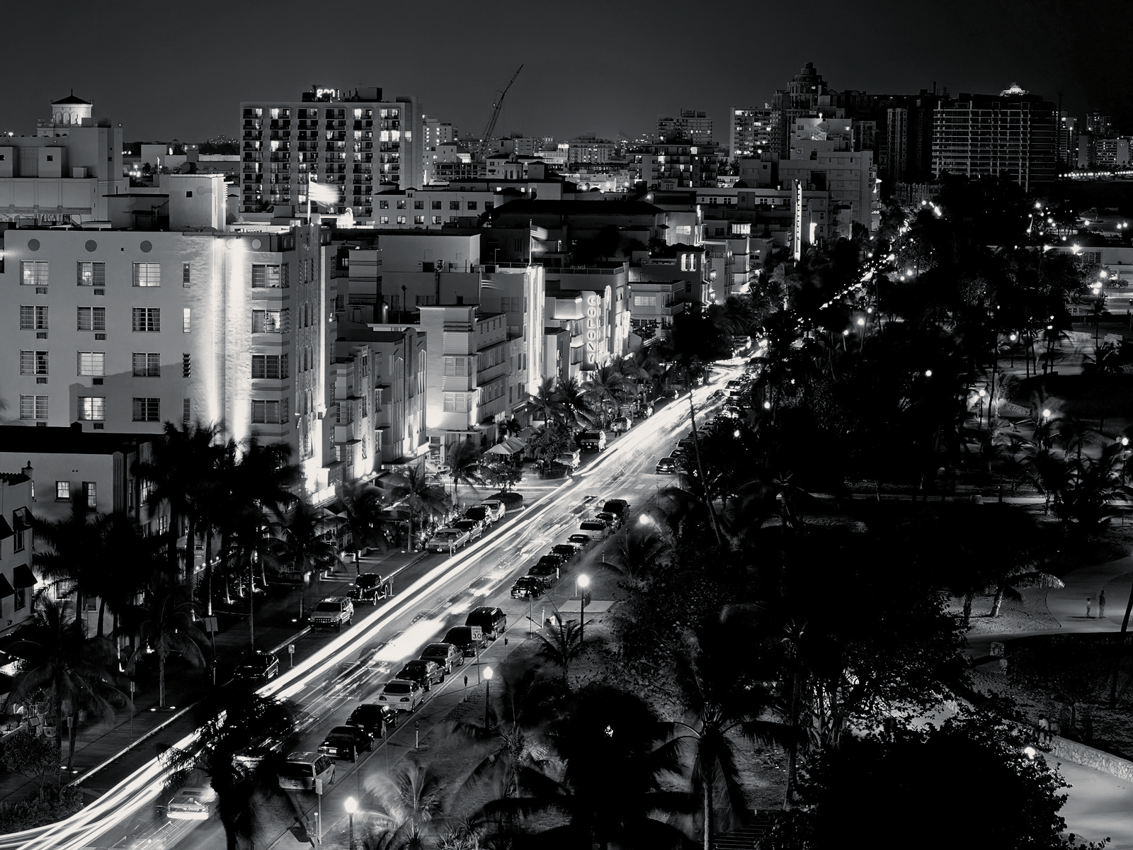 Black and White City of Miami wallpaper Republicans to Gut 1600x1200