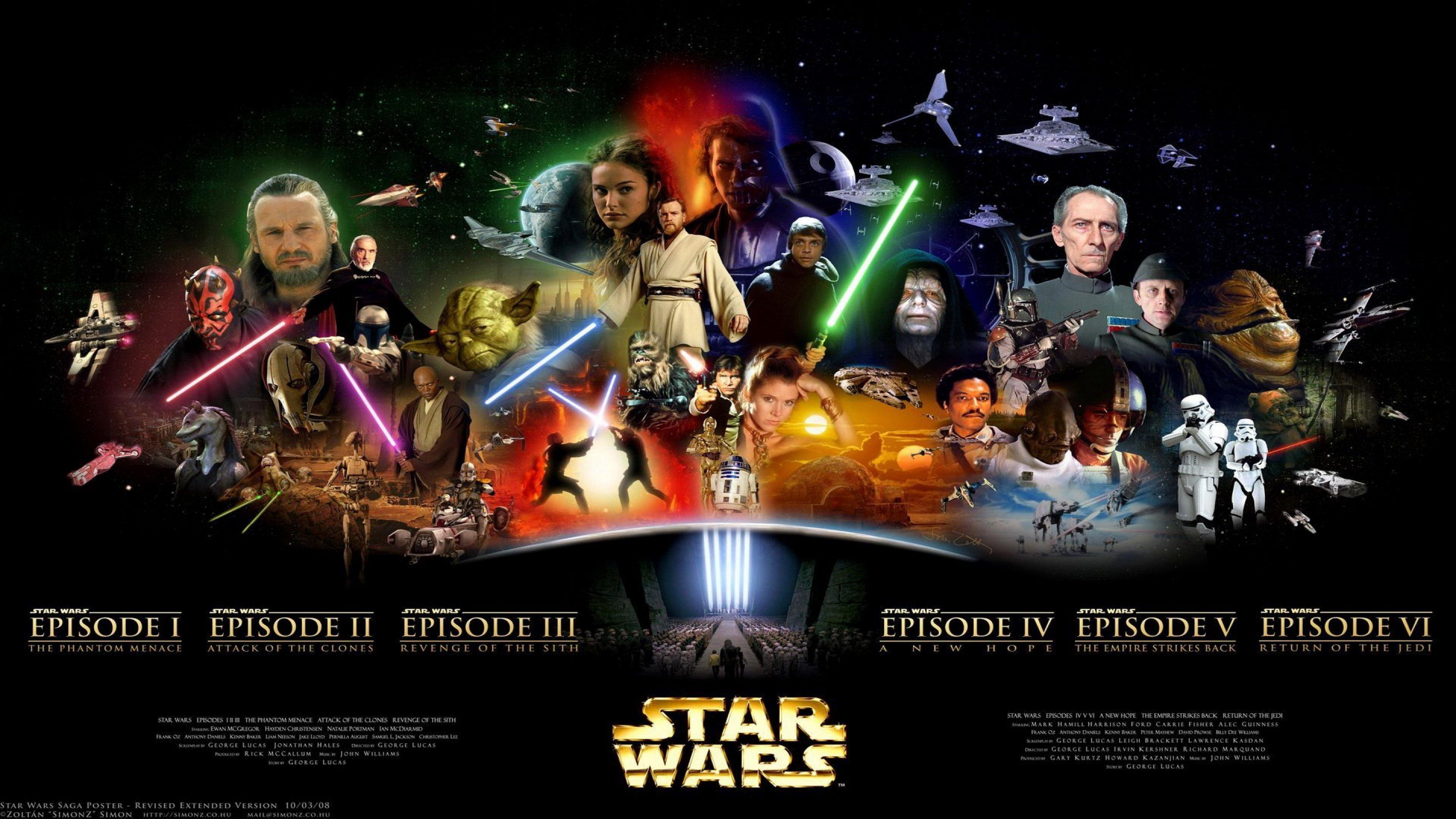 45 4k Wallpaper Star Wars On Wallpapersafari