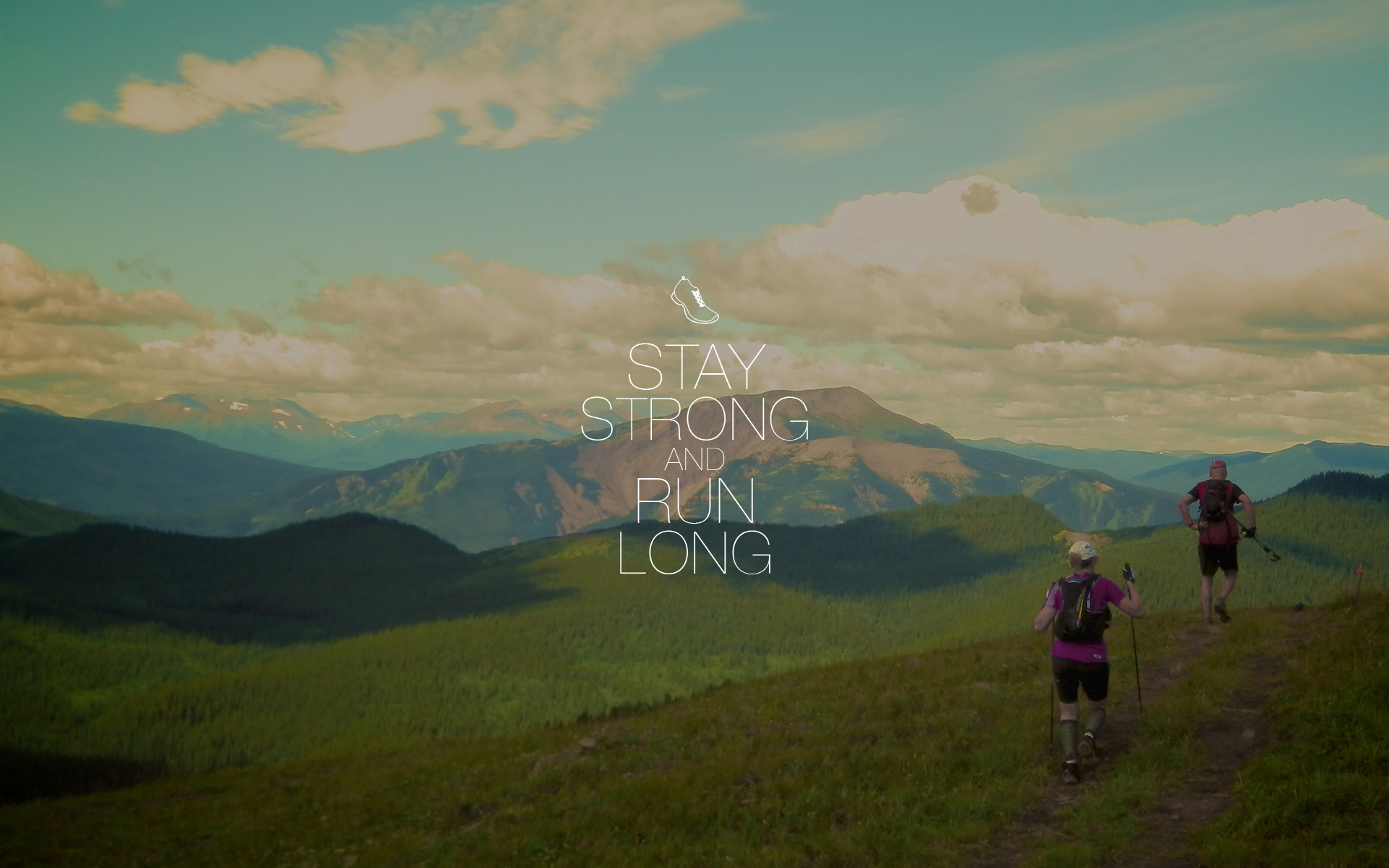 Saucony Running Wallpaper Stay strong and run long 1610 1920x1200