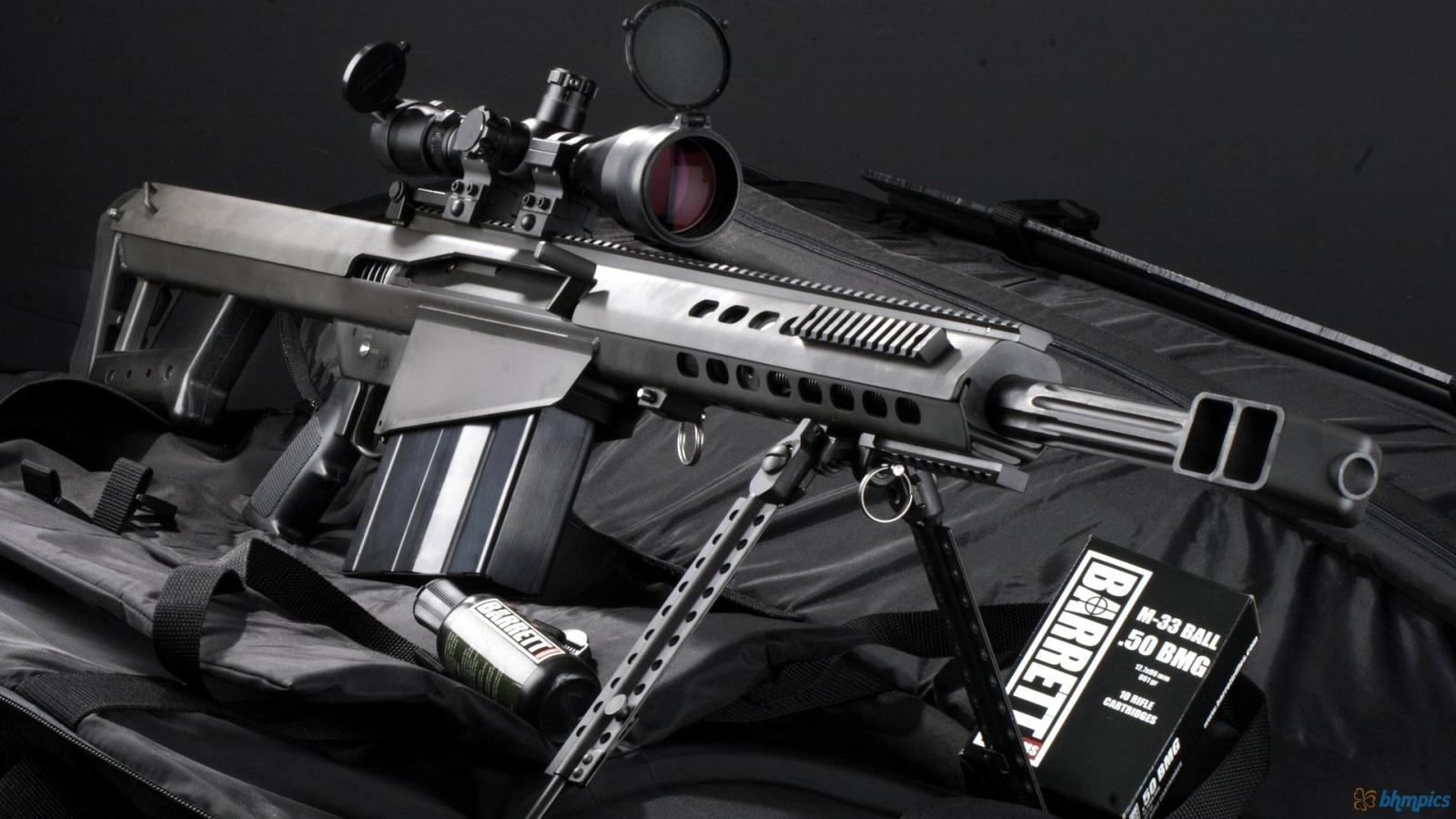 Sniper Rifle M82a1 1600x900 1788 HD Wallpaper Res 1600x900