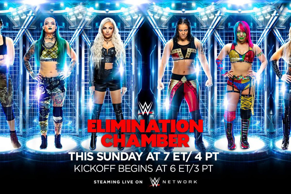 WWE Elimination Chamber 2020 predictions   Cageside Seats 1200x800