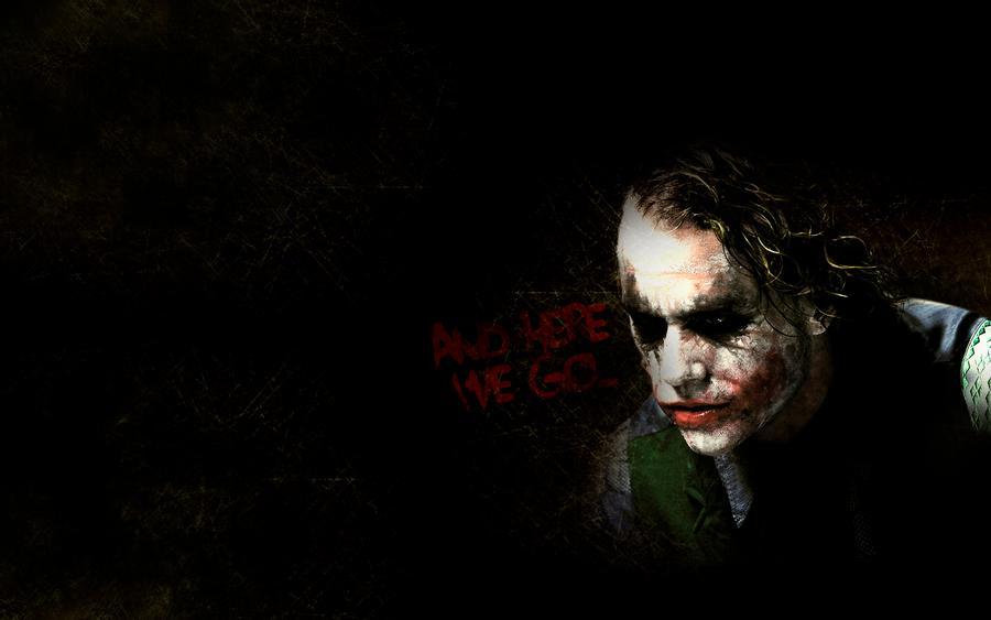 Joker Heath Ledger Background by GustavosDesign 900x563
