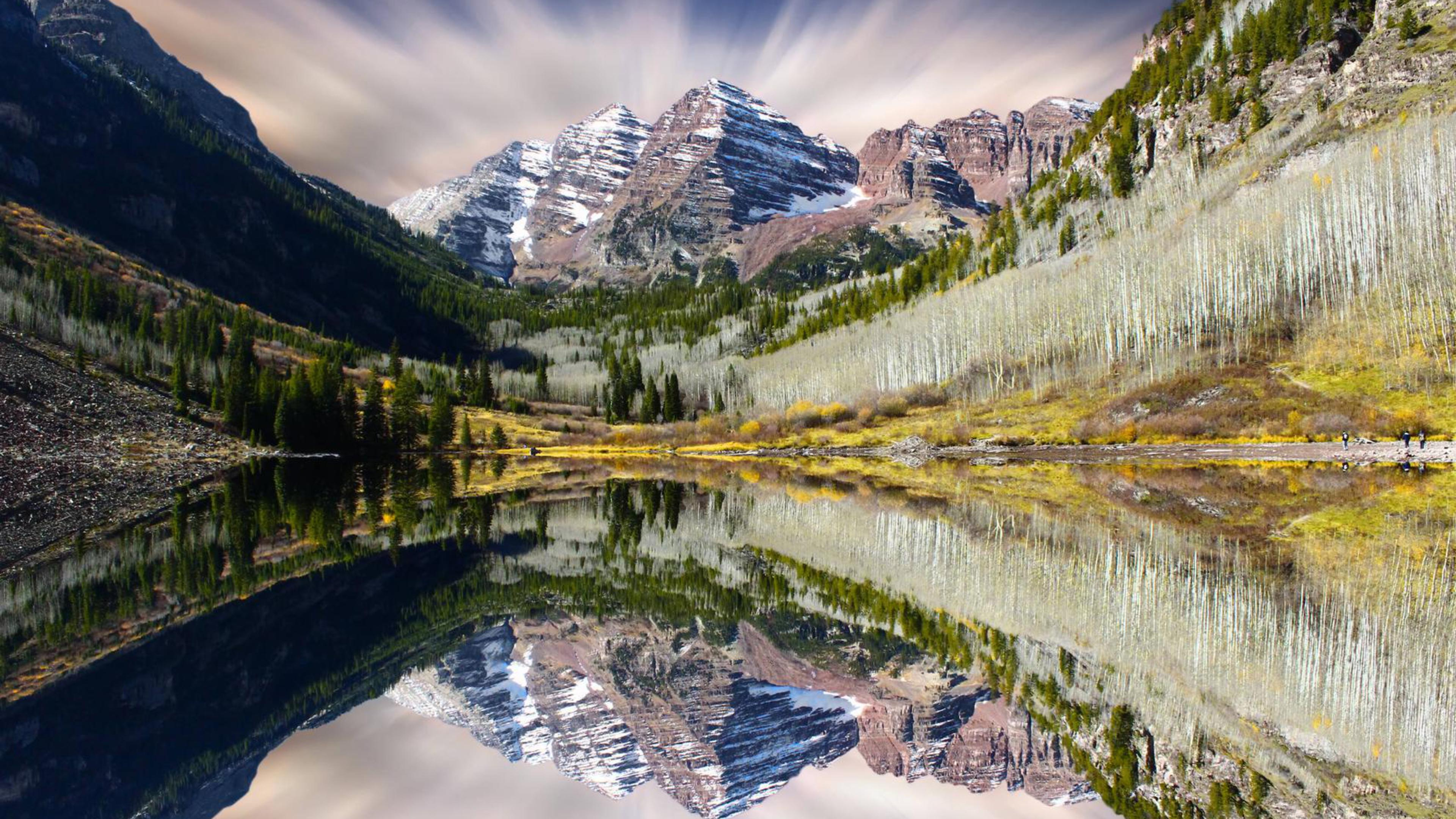 BOTPOST] Maroon Bells Aspen Colorado [3840x2160] iimgurcom 3840x2160