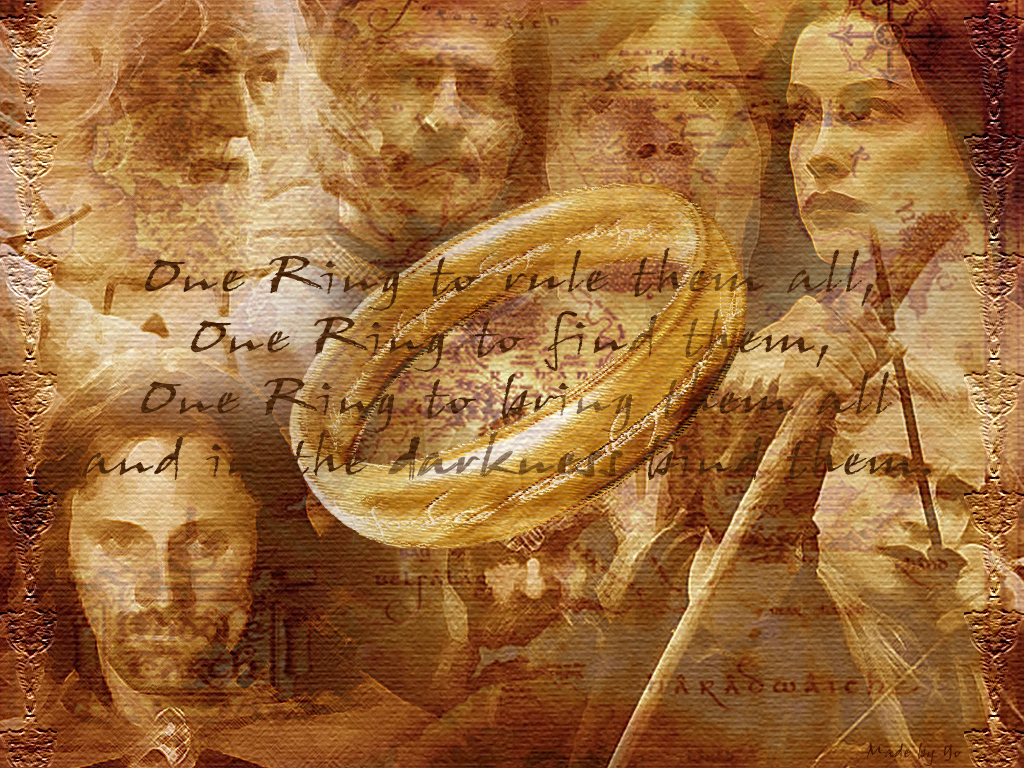 Animaatjes lord of the rings 62220 Wallpaper 1024x768