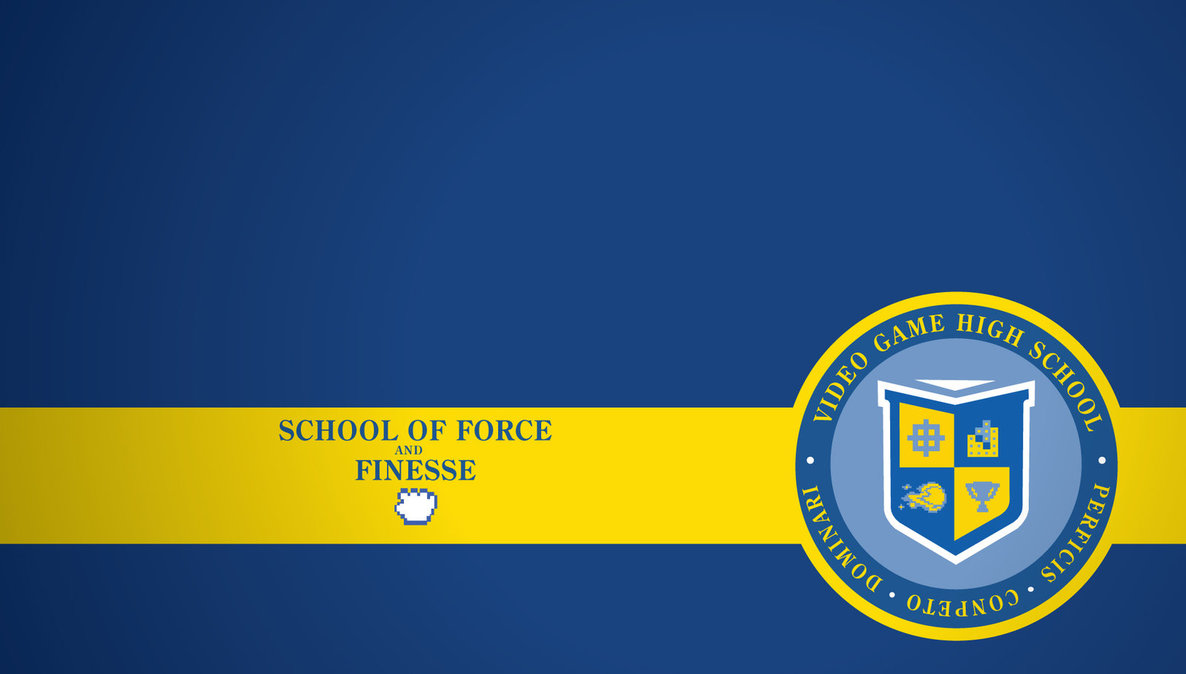 School Wallpaper School of force and finesse 1186x674