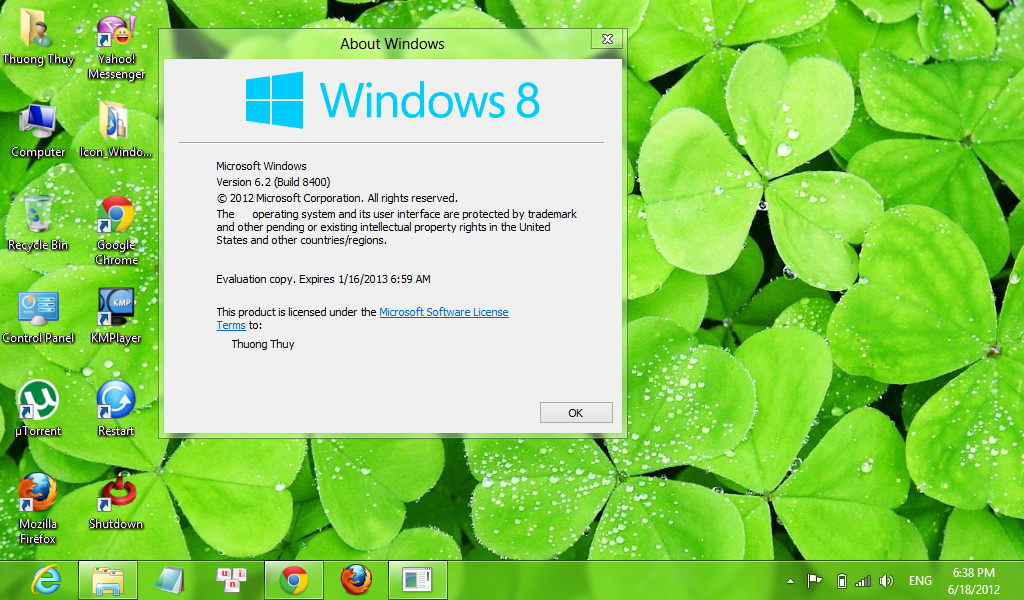 Remove Water Mark Windows 8 Consumer Preview Windows 8 Vit Nam 1024x600