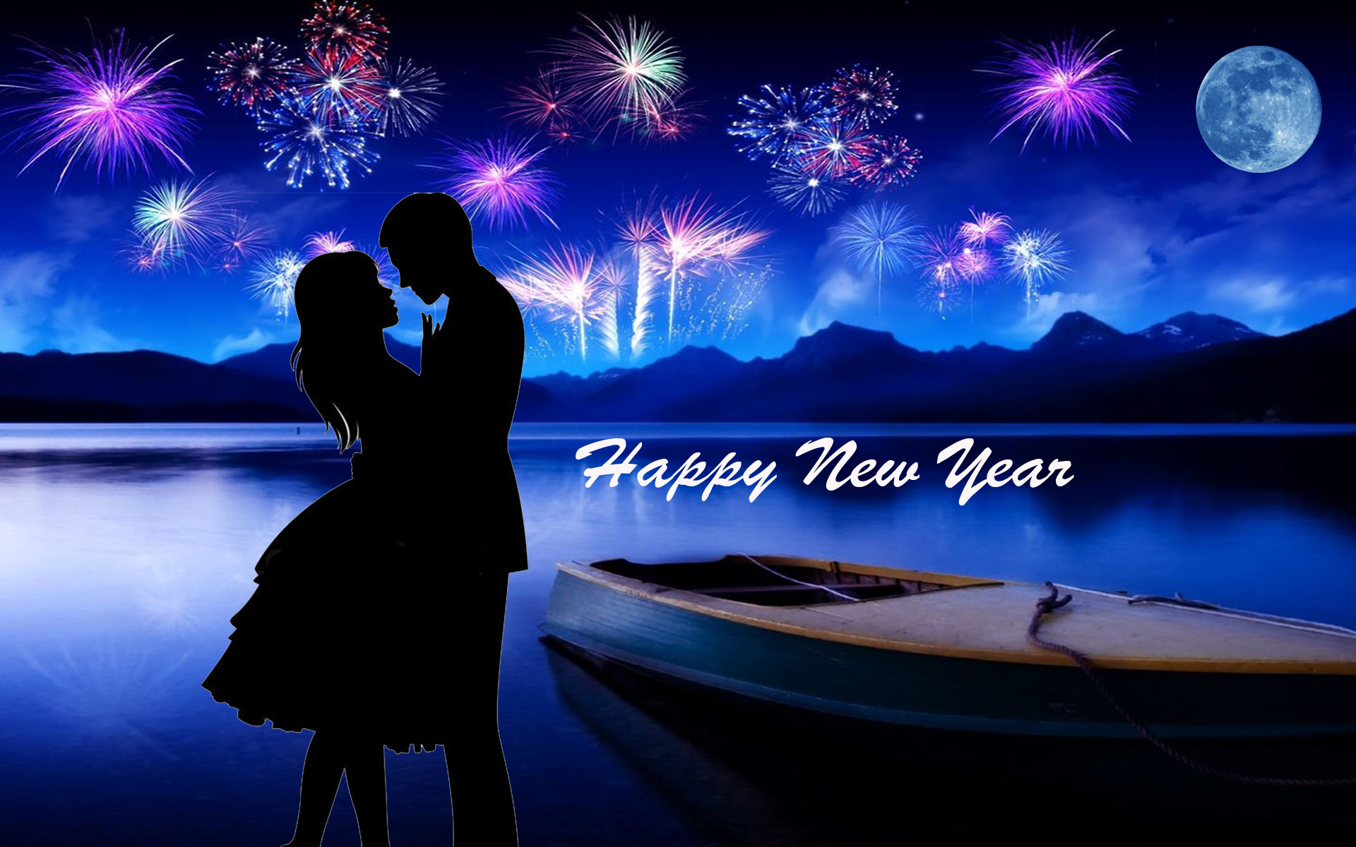 Happy New Year 2020 I Love You Greeting Cards Christmas Desktop Hd 1920x1200