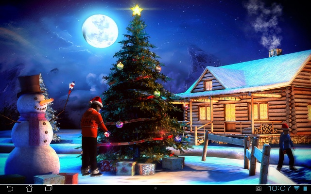 Christmas 3D Live Wallpaper   Android Forums at AndroidCentralcom 640x400