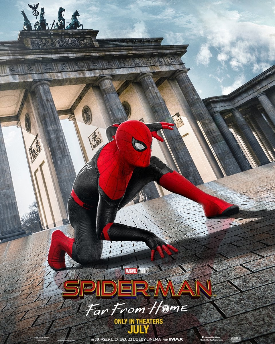 Spider Man Far From Home New Posters Released   IGN 960x1200