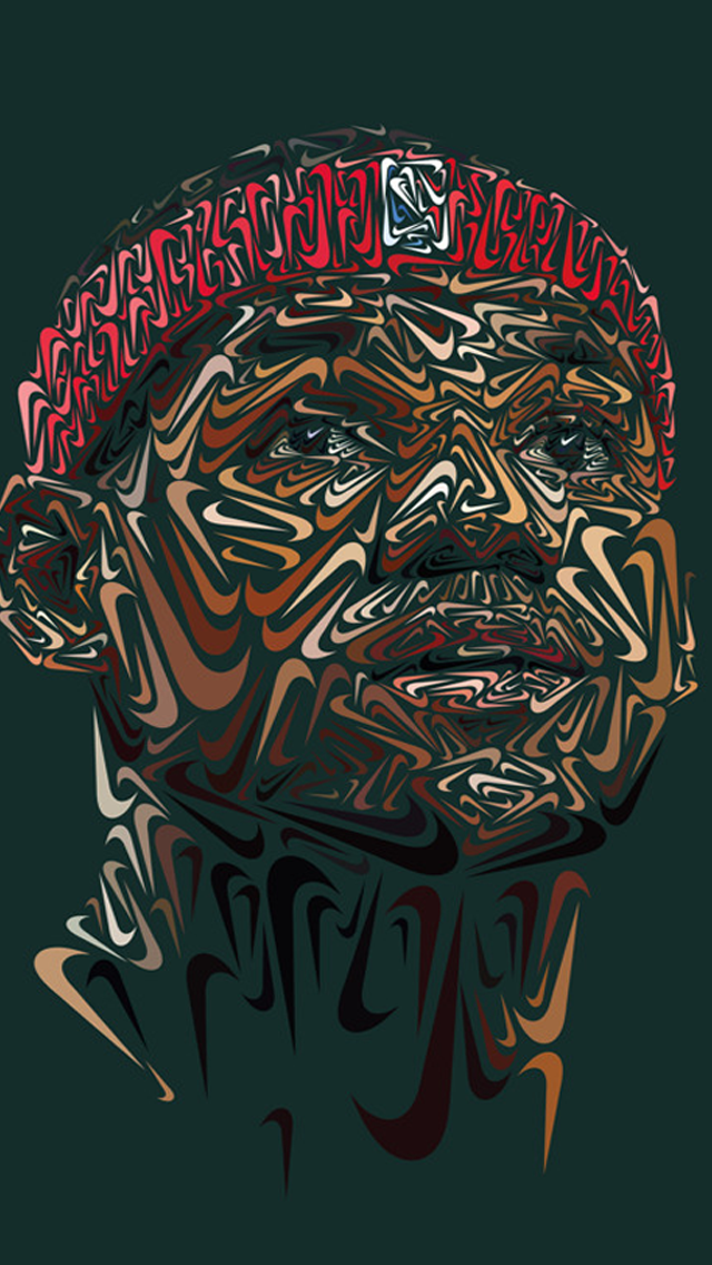 LeBron James Nike Portrait iPhone 5s Wallpaper   Purlpcom 640x1136