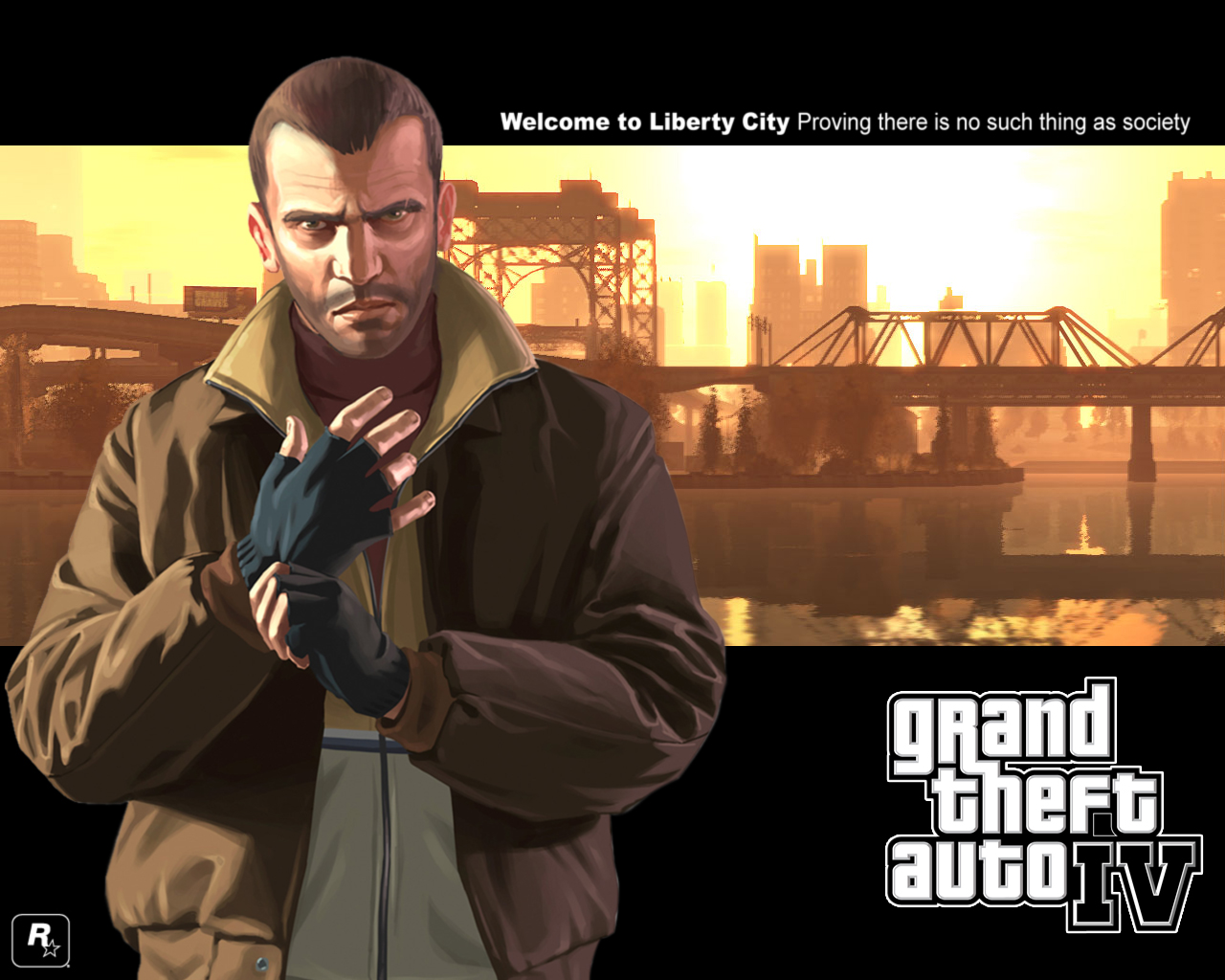Grand Theft Auto IV wallpaper by pacee 1280x1024