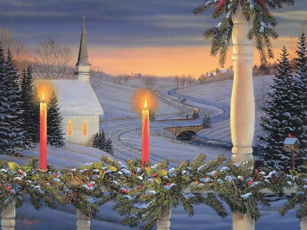 Christmas Peace   Christmas Cards Wallpaper Image 1024x768