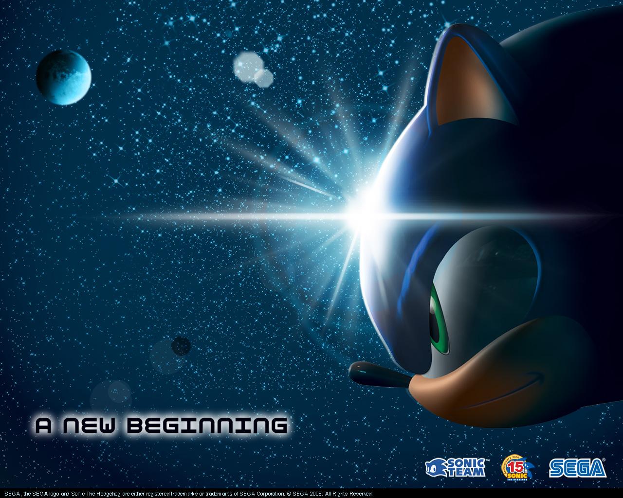 cool new sonic Sega Wallpapers 1280x1024