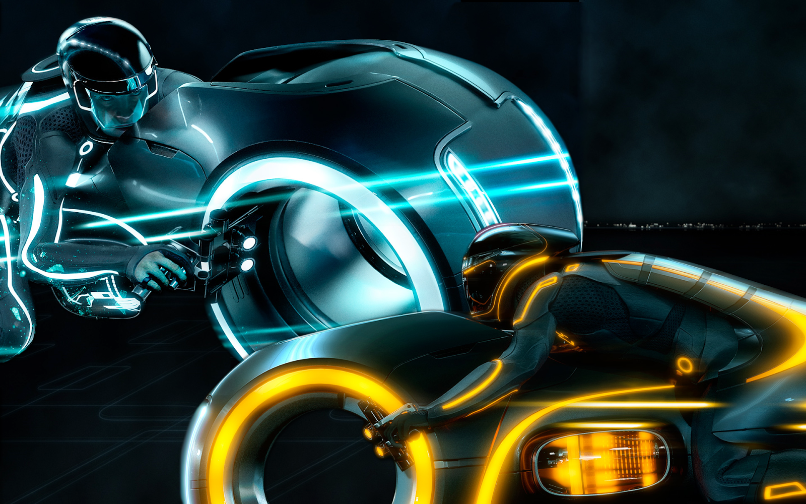 Tron Legacy Desktop Wallpaper 1600x1000