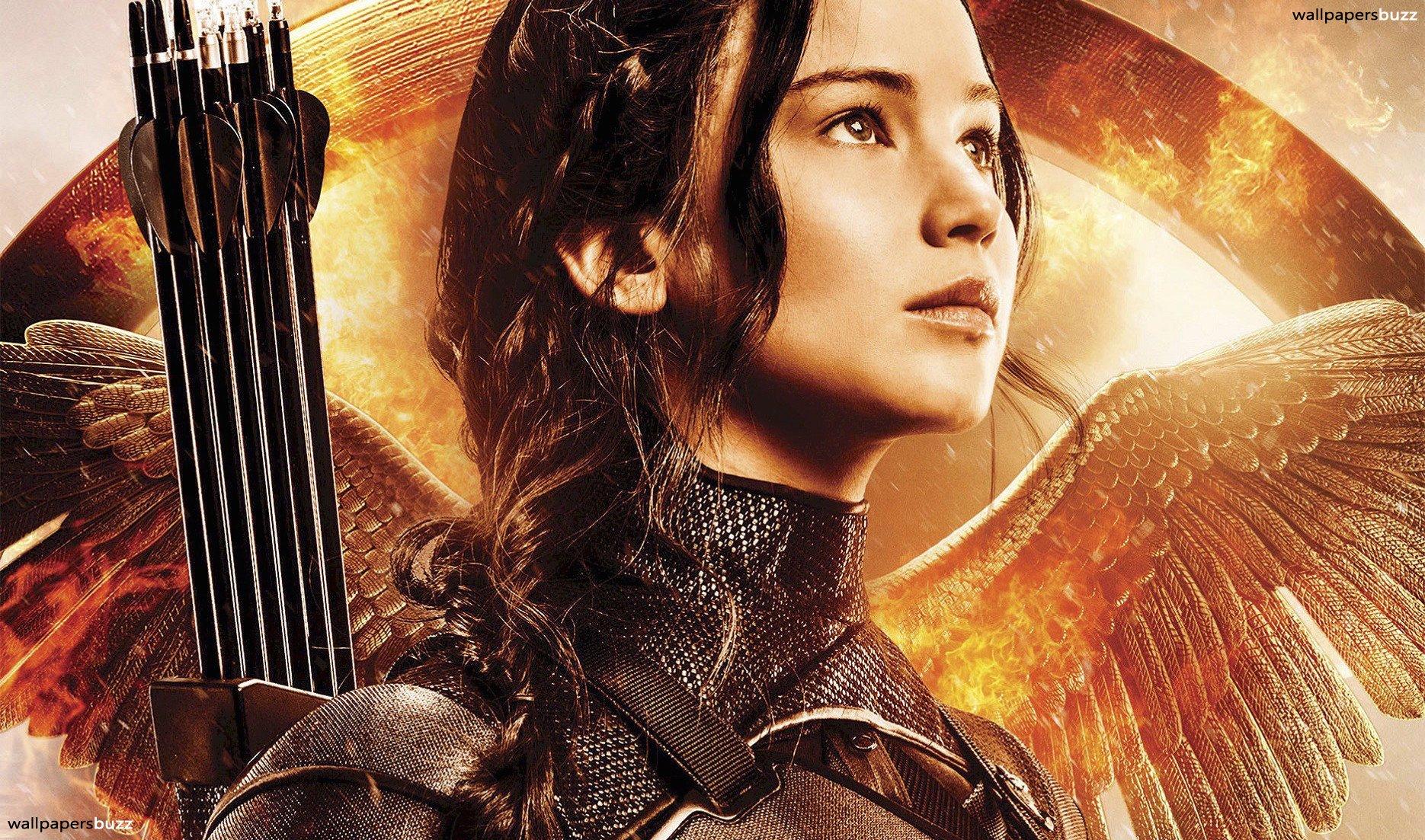 Brave Katniss Everdeen HD Wallpaper 1870x1103