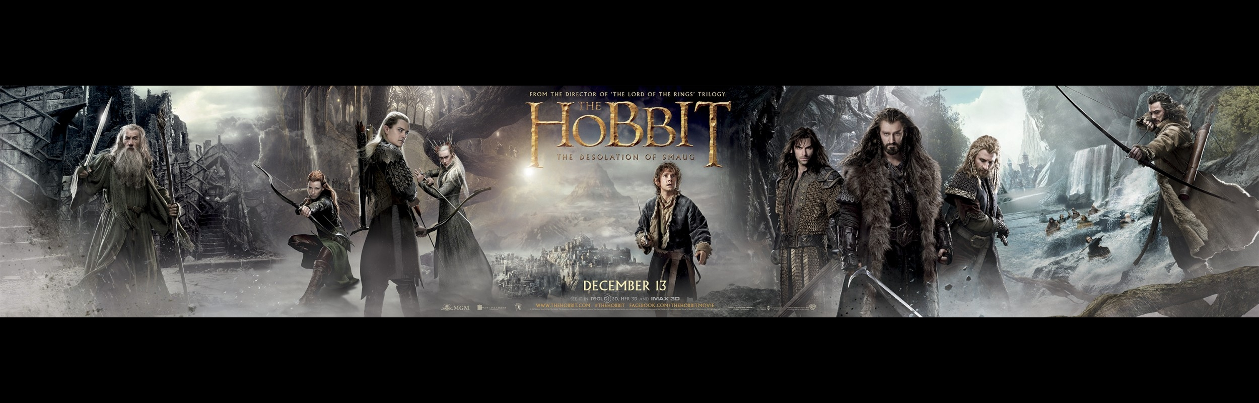 of Smaug 2013   Wallpaper Three   Movie Smack Talk Wallpaper 2500x800