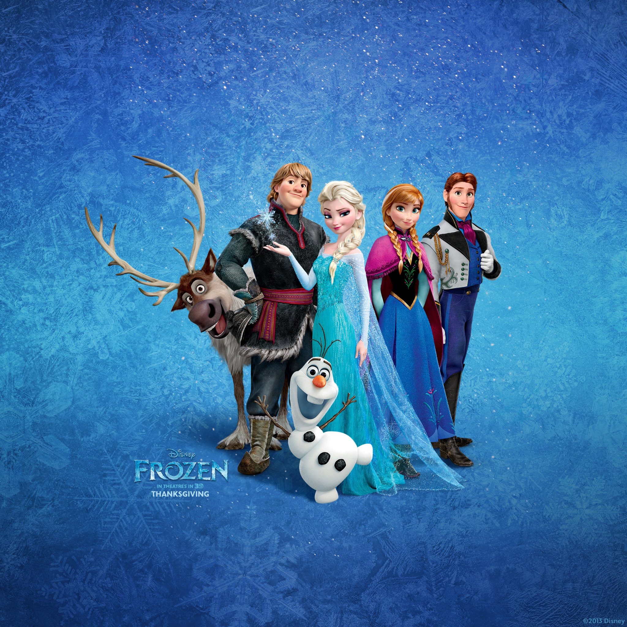 Frozen Wallpaper iPad on WallpaperSafari
