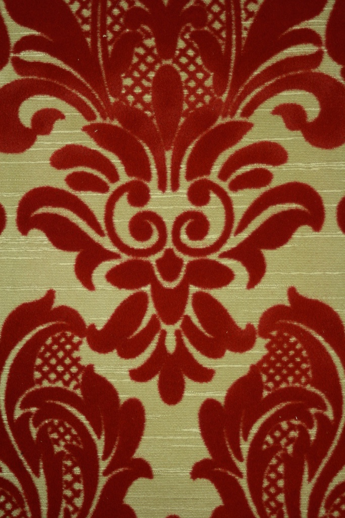 Red Flocked on Gold Vintage WallpaperIMG 8511 523 of 585 1 of 683x1024