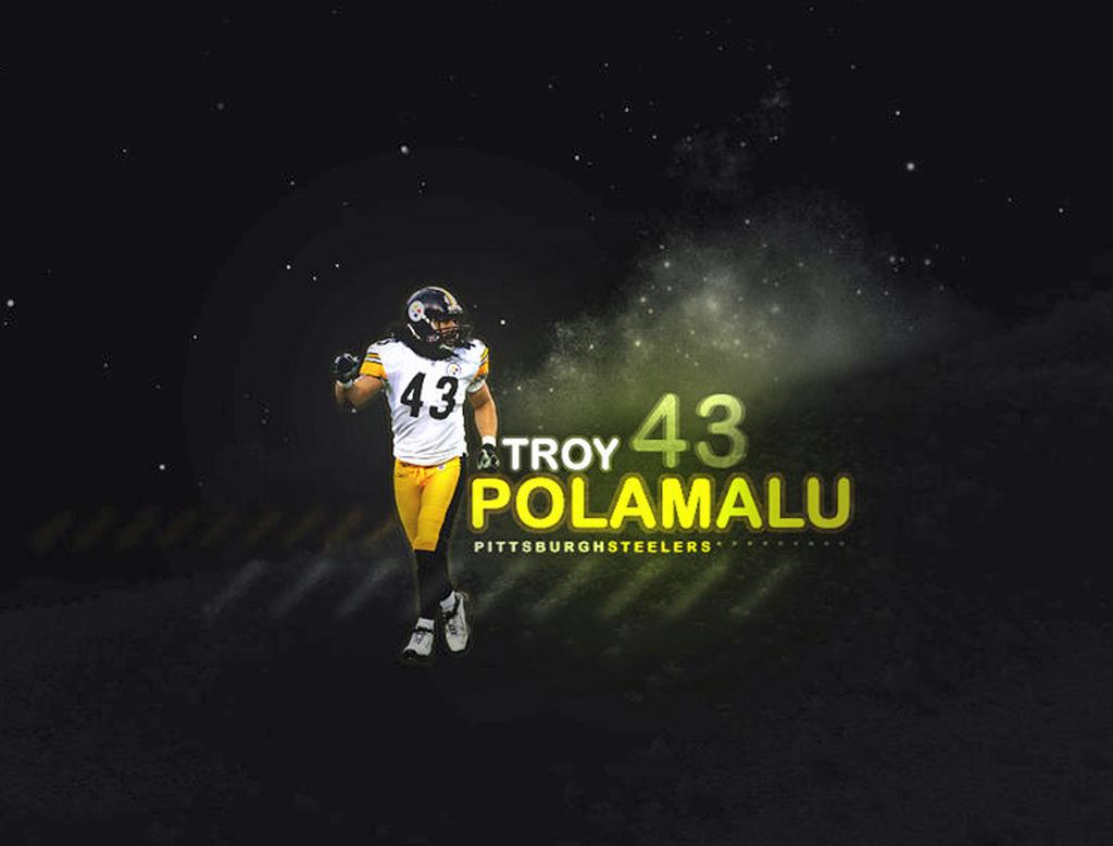 Steelers Wallpaper Troy 1024x779