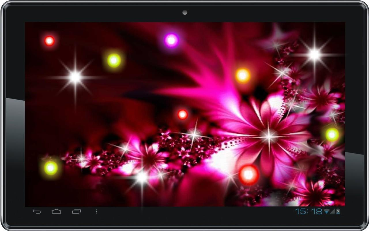 Neon Flowers HD live wallpaper   Android Apps on Google Play 1280x800