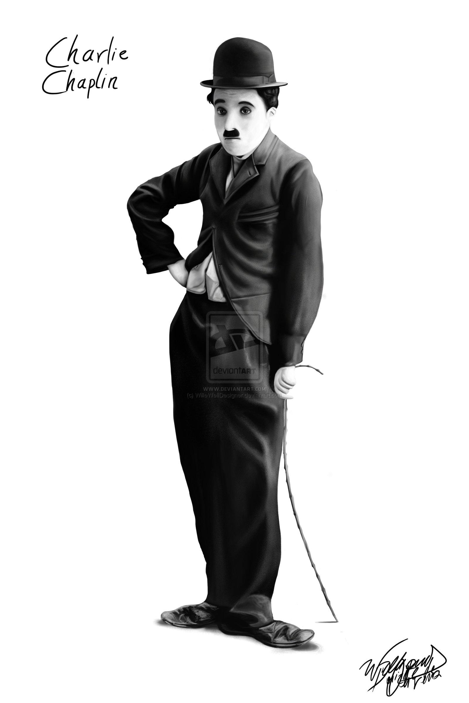 Charlie Chaplin by WilleWellDesigner on deviantART Charlie Chaplin 1600x2400