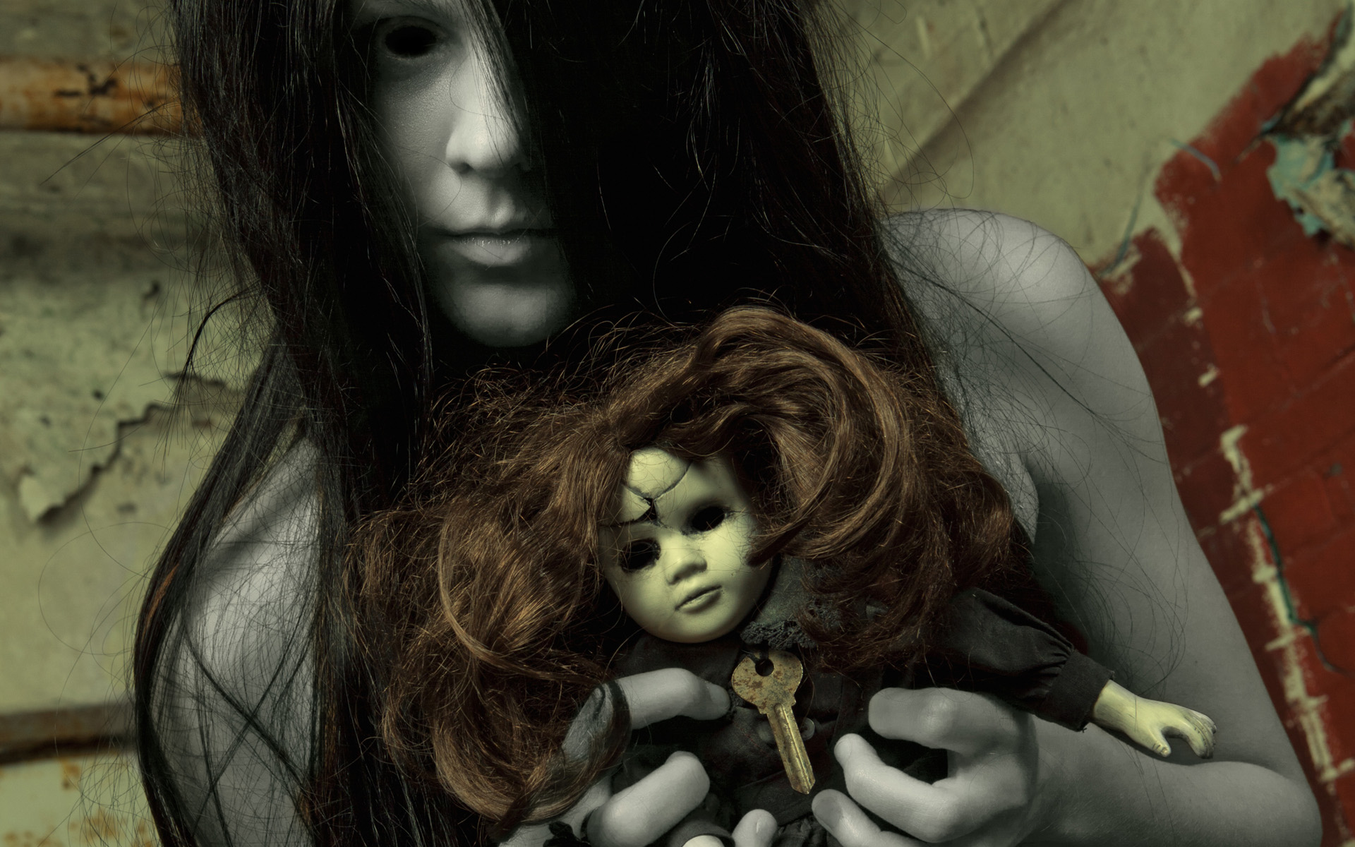 Creepy Ghost Girl Wallpapers HD Wallpapers 1920x1200