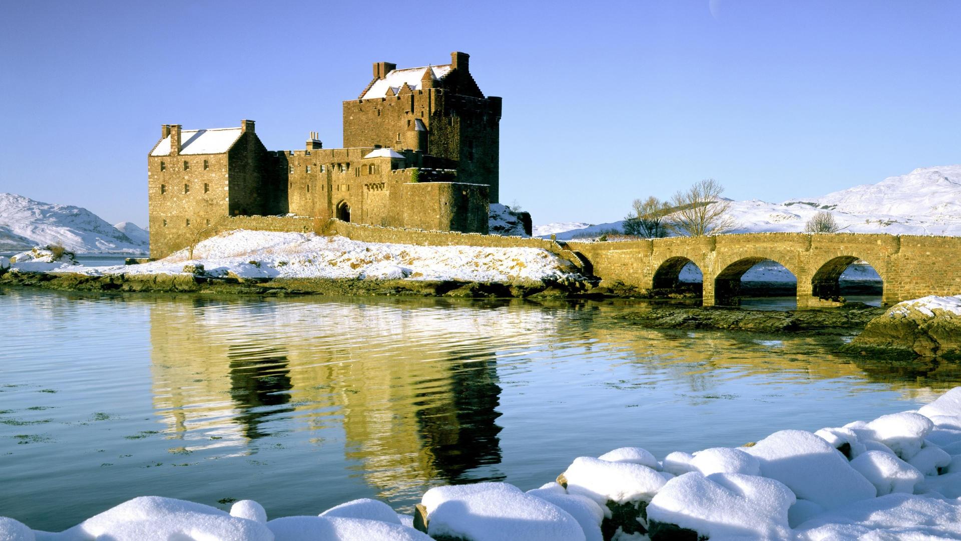 Scottish castles wallpaper wallpapersafari - Scotland wallpaper ...