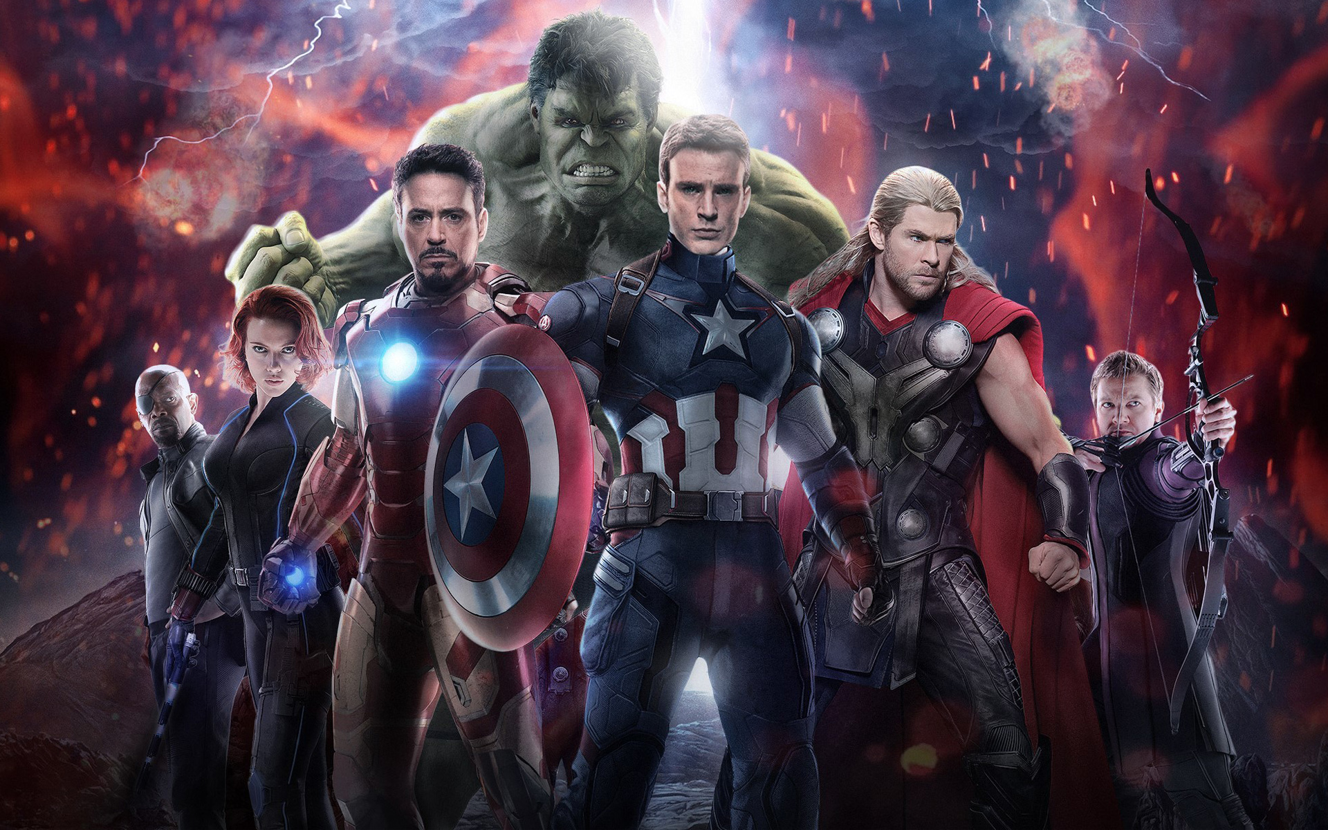 Avengers Age of Ultron 2015 Wallpapers HD Wallpapers 1920x1200
