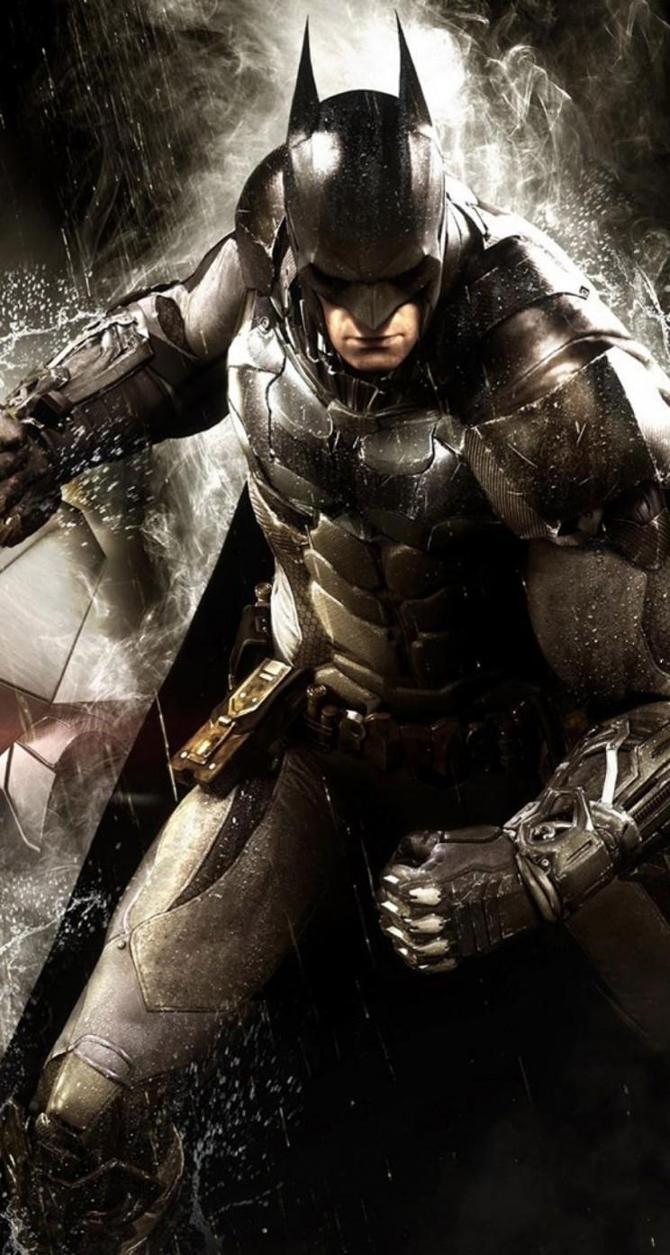 Batman Arkham Knight HD wallpaper for iPhone 5 5s   HDwallpapers 744x1392