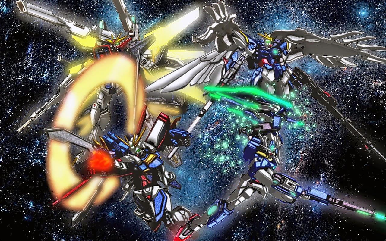 Mobile Fighter G Gundam Wallpaper  WallpaperSafari